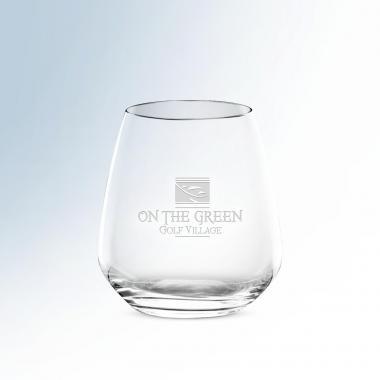 Classic Stemless Wine Glass