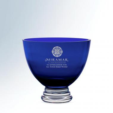 Sapphire Crystal Bowl