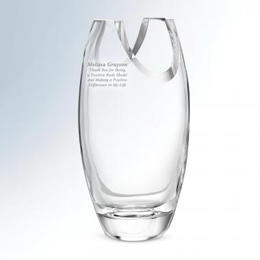 Verve Crystal Vase