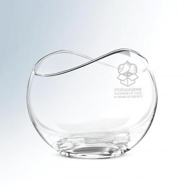 Celeste Crystal Bowl
