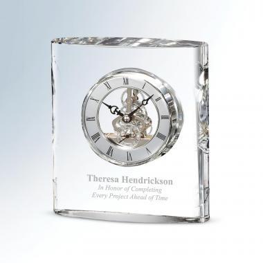 Clarity Crystal Clock