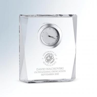 Grace Crystal Clock