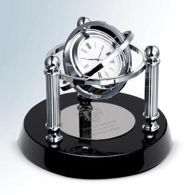 Revolve Crystal Clock