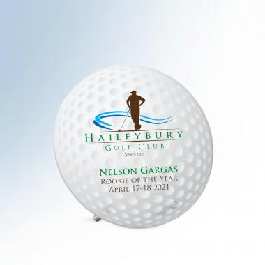 Golf Ball Pin Award