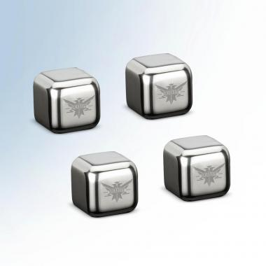 Personalized Stainless Steel Ice Cubes