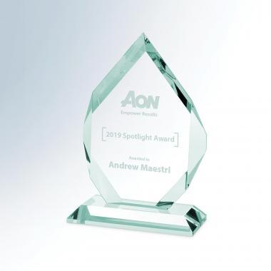 Double Diamond Crystal Award