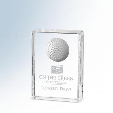 Golf Award Plaque