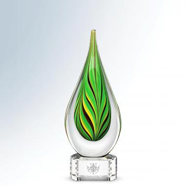 Serrate Art Glass Award