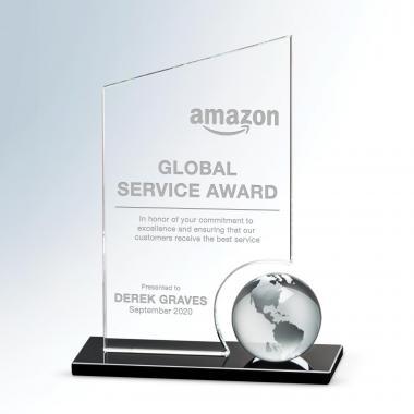 Crystal Peak Globe Award