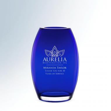 Sapphire Crystal Vase