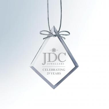 Diamond Crystal Ornament